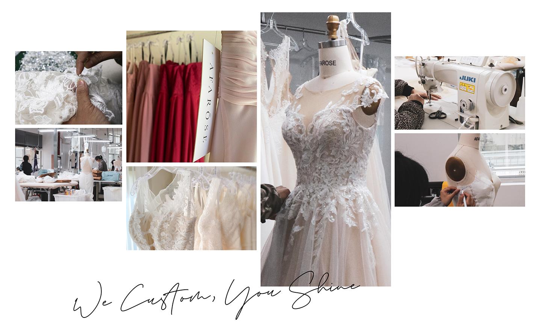 Designer Wedding Collection - We Custom, You Shine