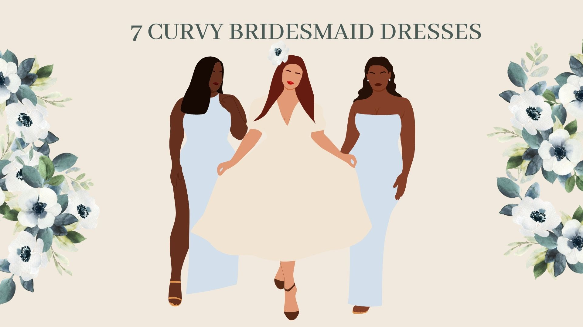 7 Curvy Bridesmaids Dresses